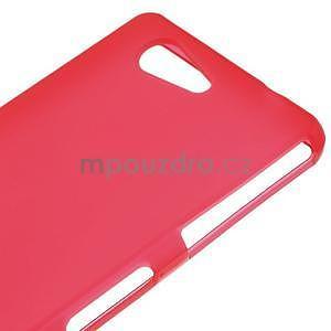 Červený matný gélový obal pre Sony Xperia Z3 Compact - 4