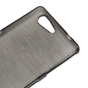 Brúsený obal pre Sony Xperia Z3 Compact D5803 - čierny - 4