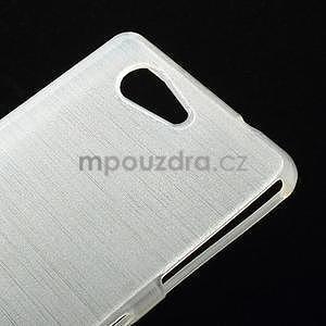 Broušený obal na Sony Xperia Z3 Compact D5803 - bílý - 4
