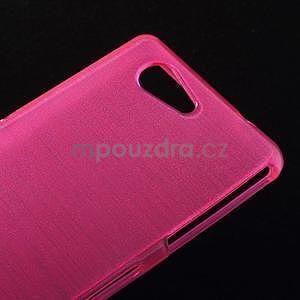 Brúsený obal pre Sony Xperia Z3 Compact D5803 - rose - 4