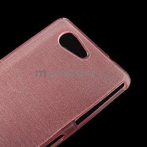 Broušený obal na Sony Xperia Z3 Compact D5803 - růžový - 4