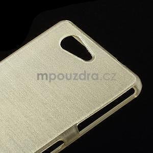 Brúsený obal pre Sony Xperia Z3 Compact D5803 - champagne - 4