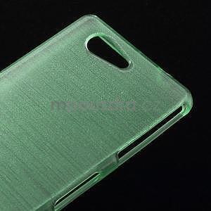 Brúsený obal pre Sony Xperia Z3 Compact D5803 - azurový - 4