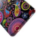 Gelový obal na Sony Xperia Z3 Compact - barevné kruhy - 4/4