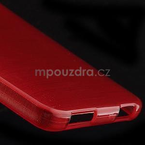 Brúsený kryt pre Xiaomi 4 MI4 - červený - 4