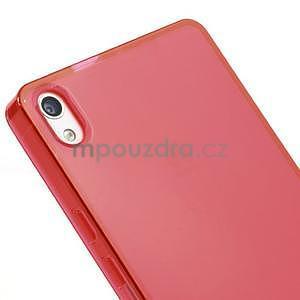 Gélové puzdro na Huawei Ascend P6 - červené - 4