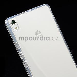 Gélové puzdro na Huawei Ascend P6 - transparentný - 4