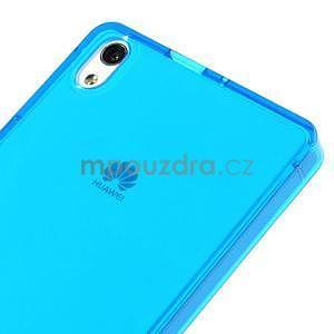 Gélové puzdro na Huawei Ascend P6 - modré - 4