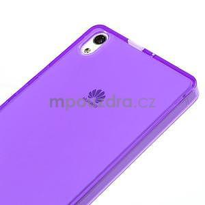 Gélové puzdro na Huawei Ascend P6 - fialové - 4