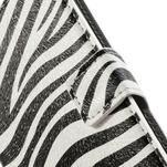 Peňaženkové puzdro na Huawei Ascend P6 - zebra - 4/6