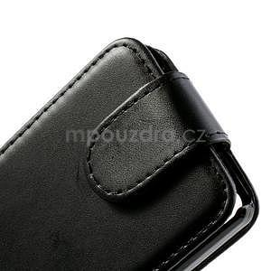 Flipové puzdro na Huawei Ascend P6 - čierné - 4