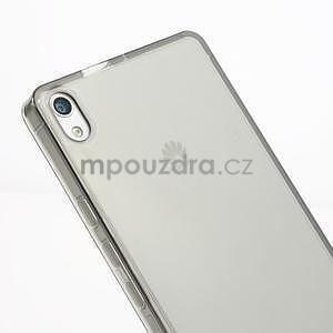 Gélové puzdro na Huawei Ascend P6 - šedé - 4