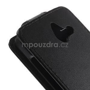Kožené flipové puzdro na Huawei Ascend Y550 - 4