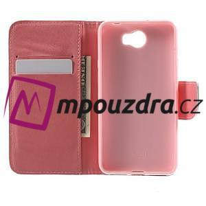 Emotive peněženkové puzdro na Huawei Y5 II - Keep Calm - 4
