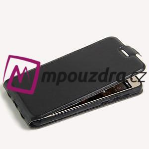 Flipové PU kožené puzdro na Huawei Y5 II - čierne - 4