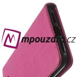 Clothy peněženkové puzdro na Huawei Y5 II - rose - 4