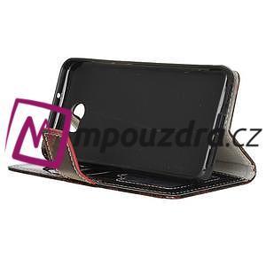 Pouzdro s hadím motivem na mobil Huawei Y5 II - červené - 4