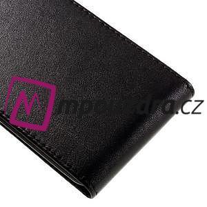 Černé flipové puzdro na Huawei Y5 II - 4