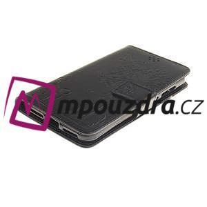 Dandelion PU kožené puzdro na Huawei Y5 II - čierne - 4