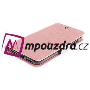 Dandelion PU kožené puzdro na Huawei Y5 II - růžové - 4