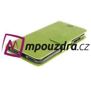 Dandelion PU kožené puzdro na Huawei Y5 II - zelené - 4