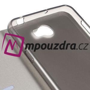 Horse PU kožené puzdro na mobil Huawei Y5 II - hnědé - 4
