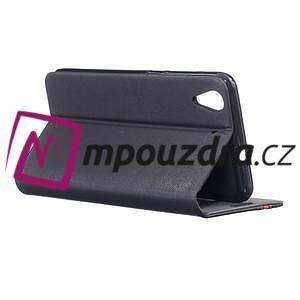 Klopové puzdro na mobil Huawei Y6 II a Honor 5A - černé - 4