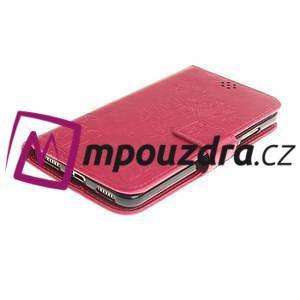 Dandelion PU kožené puzdro pre Huawei Y6 II a Honor 5A - rose - 4