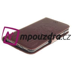 Dandelion PU kožené puzdro pre Huawei Y6 II a Honor 5A - hnedé - 4