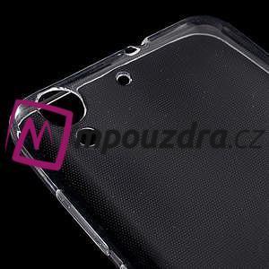 Ultratenký gélový obal pre mobil Huawei Y6 II a Honor 5A - Transparentný - 4
