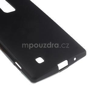 Matný gélový kryt na LG G4c H525n - čierny - 4