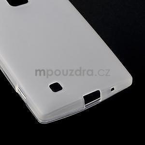 Matný gélový kryt na LG G4c H525n - bilý - 4