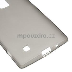 Matný gélový kryt na LG G4c H525n - šedý - 4