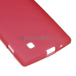 Matný gélový kryt pre LG G4c H525n - červený - 4
