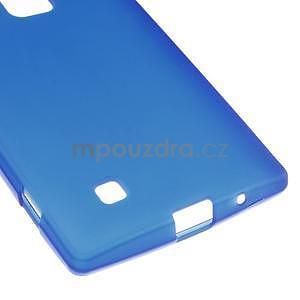 Matný gélový kryt pre LG G4c H525n - modrý - 4