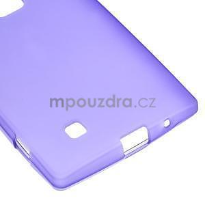 Matný gélový kryt na LG G4c H525n - fialový - 4