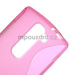 Rose gélový obal S-line na LG G4c H525n - 4
