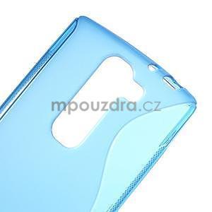 Modrý gélový obal S-line na LG G4c H525n - 4