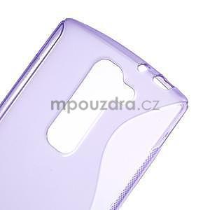 Fialový gélový obal S-line na LG G4c H525n - 4