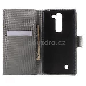 Peňaženkové puzdro pre LG G4c H525n - farebné kvetiny - 4