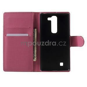 Peňaženkové puzdro pre LG G4c H525n - motýľkové - 4