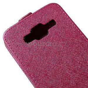 Flipové puzdro pre Samsung Galaxy J5 - rose - 4