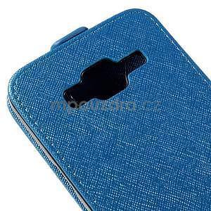 Flipové pouzdro na Samsung Galaxy J5 - modré - 4