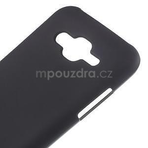 Matný gélový obal Samsung Galaxy J5 - čierný - 4