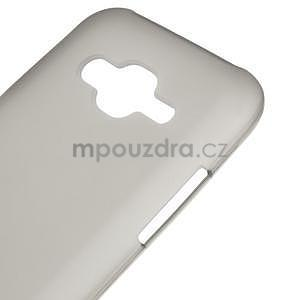 Matný gélový obal Samsung Galaxy J5 - šedý - 4