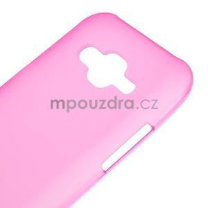 Matný gélový obal Samsung Galaxy J5 - rose - 4