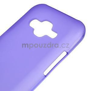 Matný gelový obal Samsung Galaxy J5 - fialový - 4