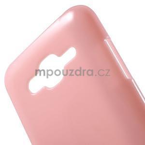 Rúžový gélový kryt pre Samsung Galaxy J5 - 4