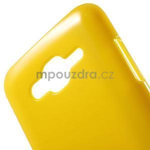 Žltý gélový kryt pre Samsung Galaxy J5 - 4