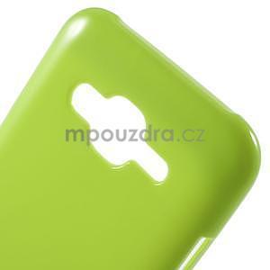 Zelený gélový kryt pre Samsung Galaxy J5 - 4